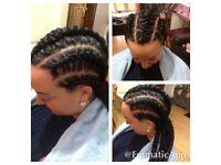BOX BRAIDS/ FAUX LOCS /TWIST/ LA WEAVE HAIR EXTENSIONS/AFRO CARIBBEAN/EUROPEAN HAIR /BRAZILIAN HAIR