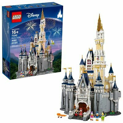 LEGO #71040 The Disney Castle 4080 pieces New Factory Sealed