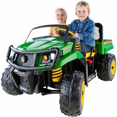 Ride Kids Car Electric Remote Control Battery Led Powered Truck Toy John Deere