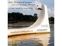 Free Skateboard Lessons