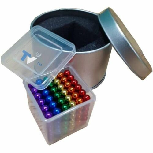 1000 pcs 5mm Multicolored Balls, for Intelligence Learning Educational Toy