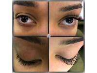 Semi permanent eyelash £40, lash lift £40 and full body waxing £50