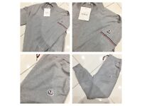 Brand New With Tags Men's Moncler Sweatshirts Grey Tracksuit £30