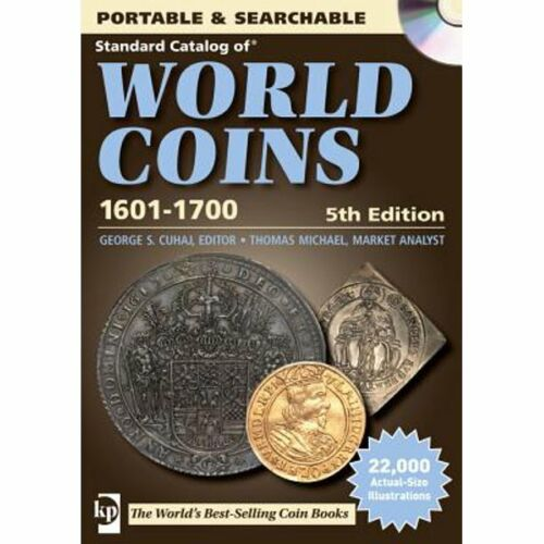 Standard Catalog of World Coins 1601-1700 George Cuhaj - CD, Krause Publ.