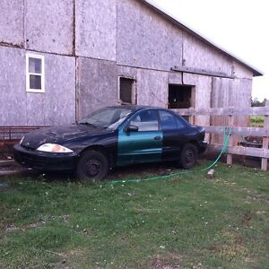 2001 or 2 Cavalier car for parts