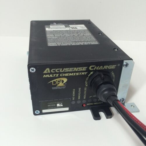 24 Volt Battery Charger 20 Amp Onboard Applications Industrial AWP Scrubber