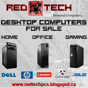 RedTech PCs – Great Computers, Great Price!