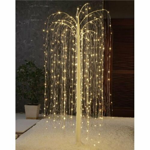 Christmas Warm White 510 LED Twinkling Willow Tree by Holiday Time
