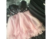 Forever Unique pink prom dress