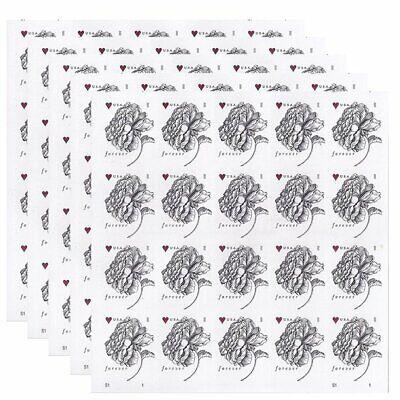 40 (2 Sheets of 20) GENUINE USPS Vintage Rose (2015) Forever Stamps US #4959