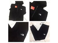 Brand New With Tags Men's North Face Black Tracksuit £30