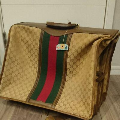 Authentic Gucci Vintage GG Monogram Trunk Luggage Bag