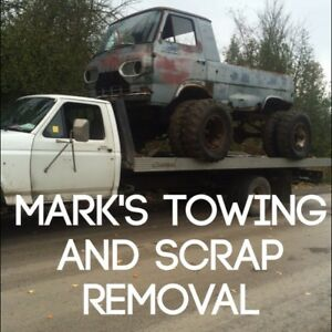 Cash for scrap cars pickup and removal