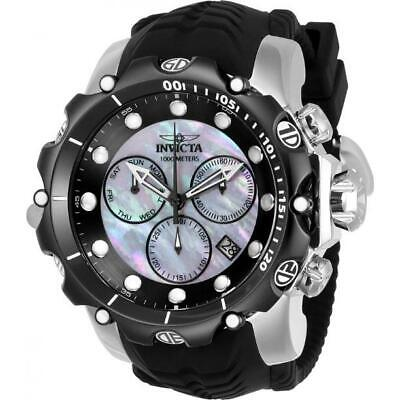 Invicta Venom 20403 Men's Mother of Pearl Chronograph Day Date Analog Watch