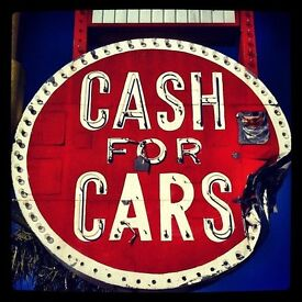"""WANTED"" YOUR UNUSED OR SCRAP CARS.CASH PAYMENT WITHIN THE HOUR."