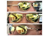 Oakley Felon Polished Gold Sunglasses