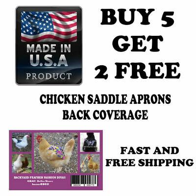 Sale Bonus 54 Free Durable Chicken Saddle Apron Hen Back Protection Poultry