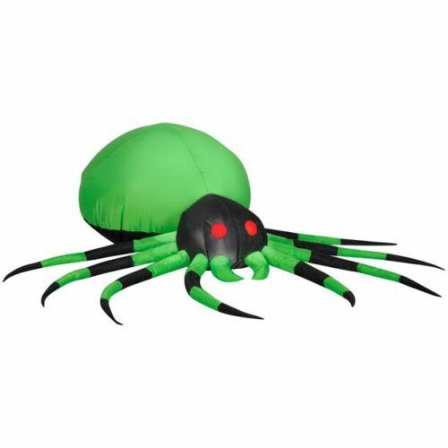 Skeletal Dog w/ Jacks Halloween Airblown Inflatable GEMMY 5 ft Dachshund Weiner