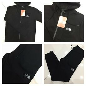 Brand New With Tags Men's North Face Black Slim Fit Tracksuit £35