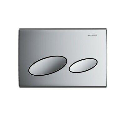 BRAND NEW Boxed Geberit Gloss Chrome Kappa 20 Dual Flush Plate 115.228.21.1