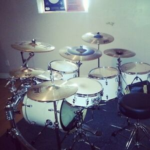 pdp 7 peice drumset price negotiable !!!!!!! 1500 FOR EVERYTHING