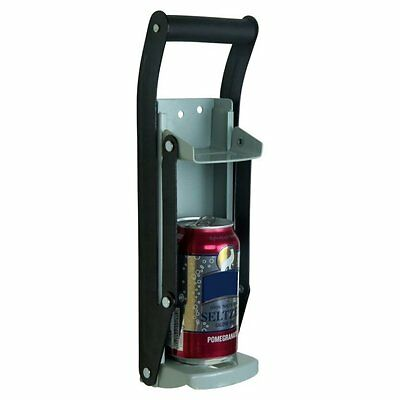 Heavy Duty Aluminum Can Crusher Bottle Opener, up to 16OZ Ca