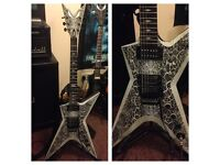 Dean ML Stealth (snakeskin) and hardcase