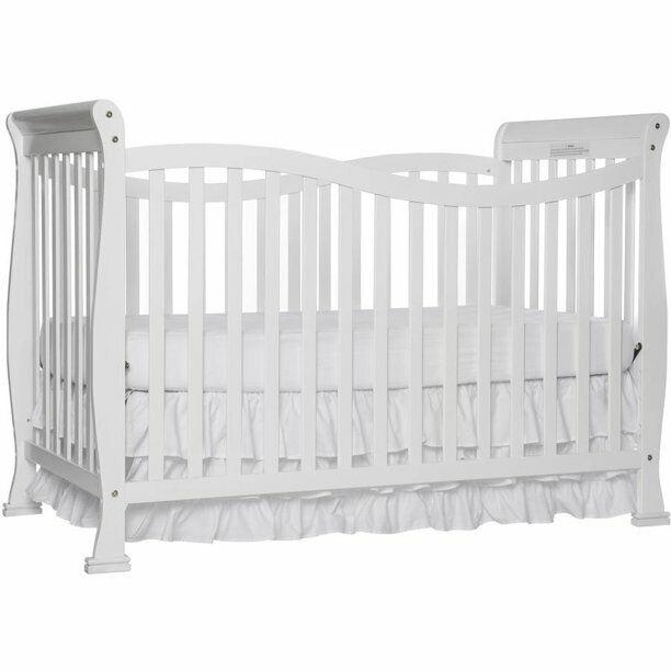 violet 7 in 1 convertible nursery crib