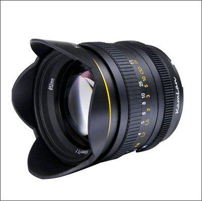 Kamlan 50mm F1.1 Apsc Manual Focus Lens for Sony E Mount A6500 A7 II R S A9
