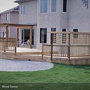 Custom Deck Builders & Fence Specialists