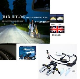 XENON HID CONVERSION KIT 35w 300% more light on the road