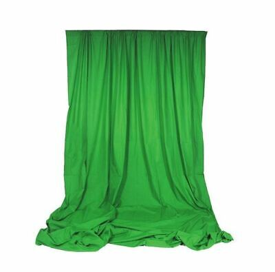 STORE DISPLAY Angler Chromakey Green Background 10 x 12' Free S/H Free Green Background