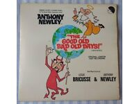 "Anthony Newley 'The Good Old Bad Old Days' 12"" VINYL LP 33⅓ RPM, £5 ONO"