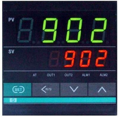 Fahrenheit Digital Pid Temperature Controller With Timer Ssr Output Fr Oven Kiln