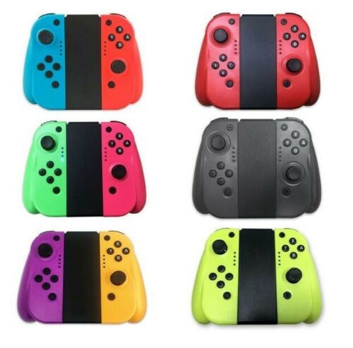 For Nintendo Switch Joy-Con (L/R) Bluetooth Wireless Controller Set With Grip