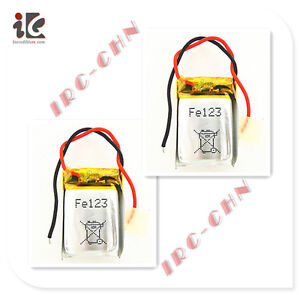 2X BATTERY 3.7V LI-POLY FOR SYMA S107G RC HELICOPTER SPARE PARTS S107-19