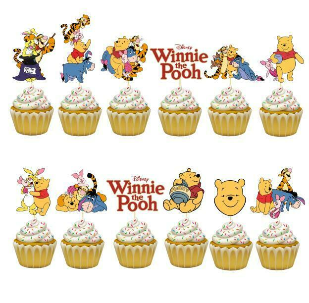 Winnie The Pooh First Birthday Party Decorations  from i.ebayimg.com