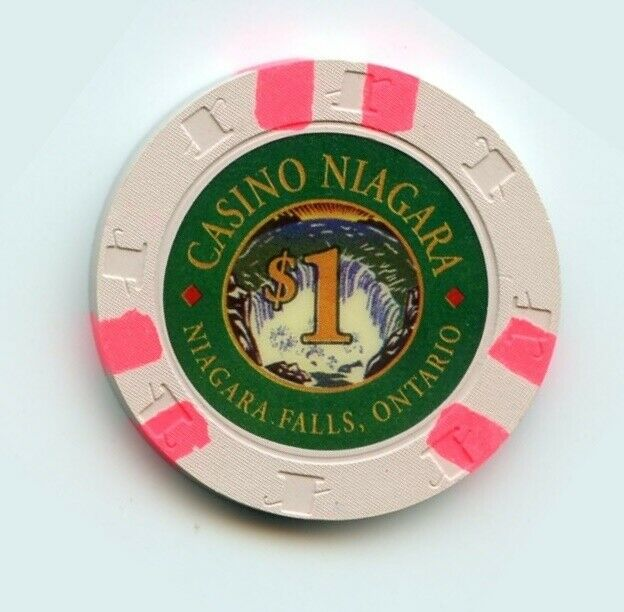 1.00 Chip from the Casino Niagara in Niagra Falls Ontario Canada H&C