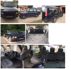 2001 Landrover Discovery II TD5 7 seater diesel with automatic transmission