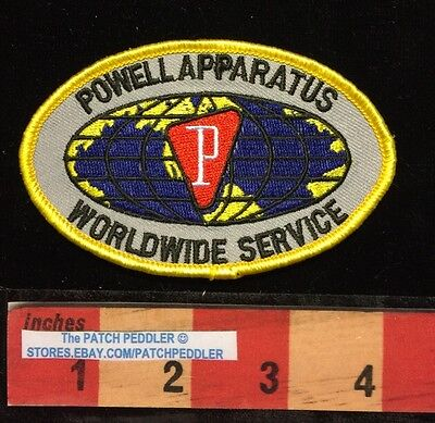 PATCH Powell Industries Apparatus Worldwide Service GAS & OIL INDUSTRY 58OO