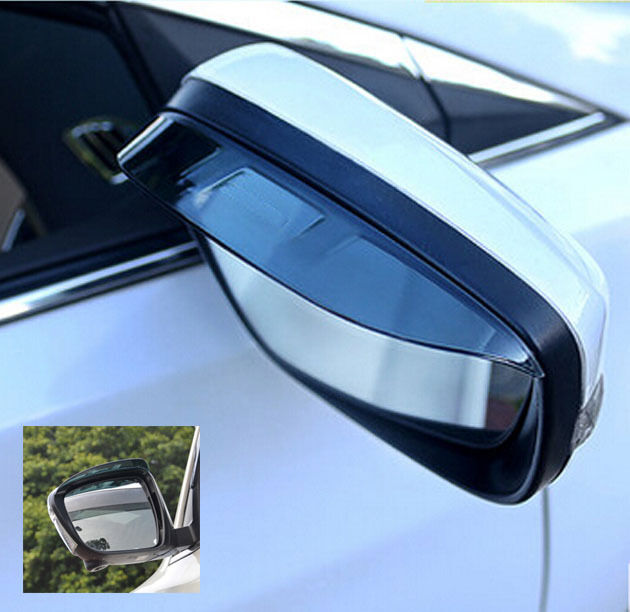 FOR PEUGEOT 3008 DOOR SIDE WING MIRROR RAIN GUARD VISOR REAR VIEW SHIELD COVER