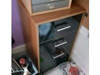 Desk drawers filing cabinet