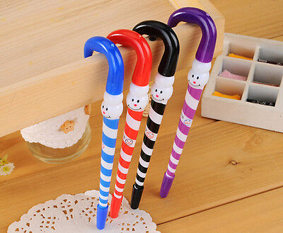 3 x Cute Snowman Christmas pen Party Bag Cute Kids novelty stationery Kawaii