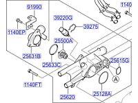Hyundai ix35 Thermostat 2550023010