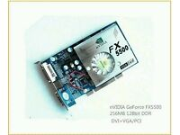New PCI Video Card GForce Nvidia FX5500