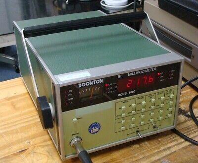 Boonton 9200 Rf Voltmeter No Probe