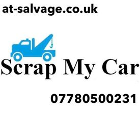 Scrap my car cash on same day collection scrap a car or van today