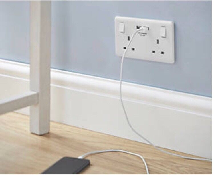 Cosmetic electrical work ,lights sockets ,kitchen lights led\'s usb ...