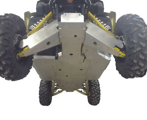 Ricochet 10-Piece Skid Plate Set, Yamaha YXZ1000 ATV TIRE RACK