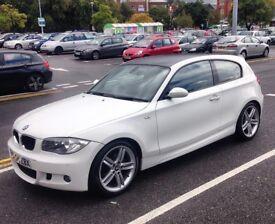 BMW - M Sport - 1.6 White/Black roof